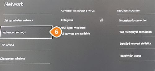 Setup Keenow Unblocker Smart DNS on your Xbox One