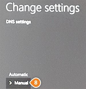 how to change your dns server xbox one