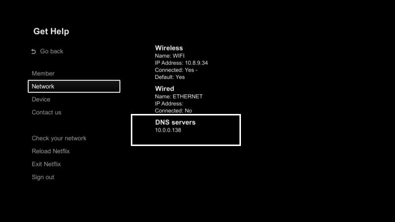 Unblocking the Netflix App using Keenow Unblocker VPN and Smart DNS